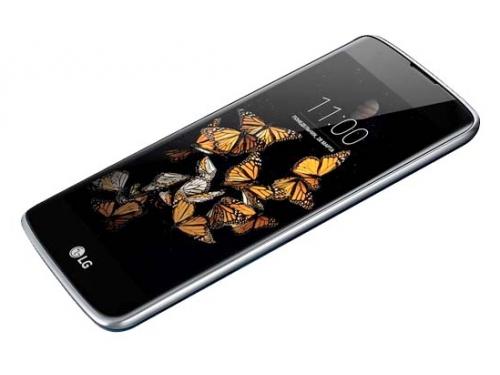 Смартфон LG K8 K350E, синий, вид 4