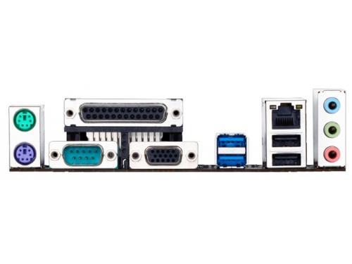 Материнская плата GIGABYTE GA-H110M-DS2 rev. 1.0 (mATX, LGA1151, Intel B150, 2x DDR4), вид 3