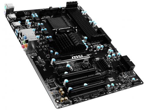 Материнская плата MSI 970A-G43 PLUS, USB 3.1, вид 1