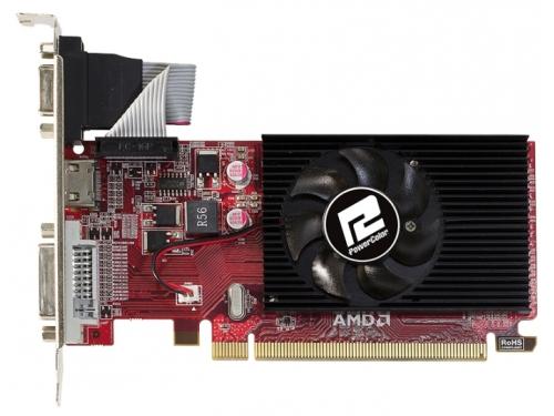 Видеокарта Radeon PowerColor Radeon R5 230 (1Gb GDDR3, DVI + HDMI + HDCP), вид 1