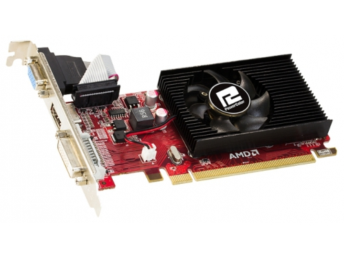 ���������� Radeon PowerColor Radeon R5 230 (1Gb GDDR3, DVI + HDMI + HDCP), ��� 2