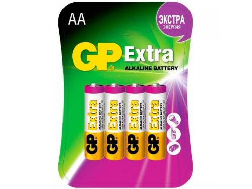 ��������� GP AA (LR6), 1.5 �, 4 ��. (GP15AX-2CR4), ��� 1