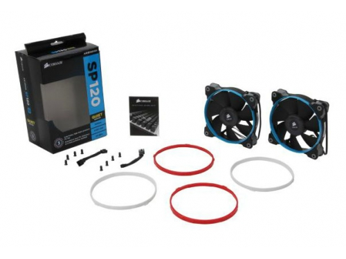 ����� Corsair CO-9050002-WW Quiet Edition Twin Pack, ��� �������, 2 ��, 120 ��, ��� 13