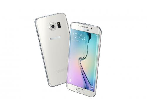 Смартфон Samsung Galaxy S6 edge 32GB White Pearl, вид 1