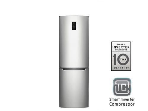 Холодильник LG GA-B379SMQL Серебристый, вид 1