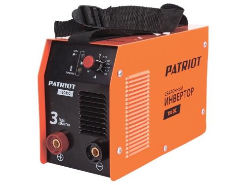 Сварочный аппарат Patriot 150DC MMA,  3.7кВт [605302514], вид 1