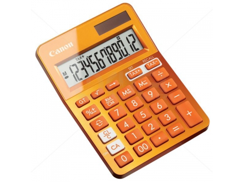 Калькулятор Canon LS-123K-MOR, 12-разрядный, вид 3