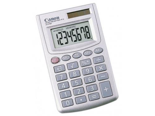 Калькулятор Canon LS-270H 8-разрядный Серебристый, вид 1