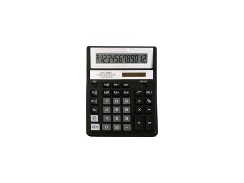 Калькулятор Citizen SDC-888XBK, 12-разрядный (чёрный), вид 2