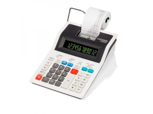 Калькулятор Citizen 520DPA, 12-разрядный (белый), вид 1