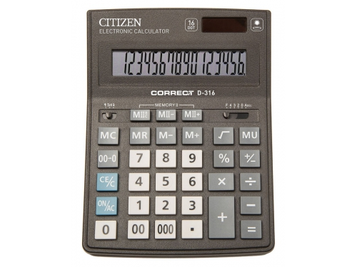 ����������� Citizen Correct D-316 16-��������� ����, ��� 1