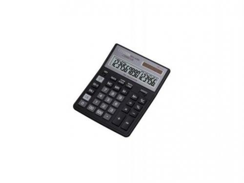 Калькулятор Citizen SDC-435N 16-разрядный чёрный, вид 1