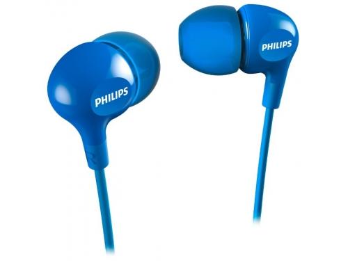 Наушники Philips SHE3550BL/00, синие, вид 1