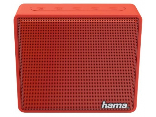 Портативная акустика Hama Pocket, красная, вид 1
