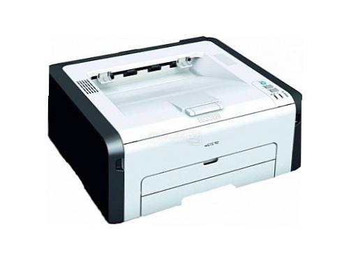 Лазерный ч/б принтер Ricoh SP 212w, белый, вид 2