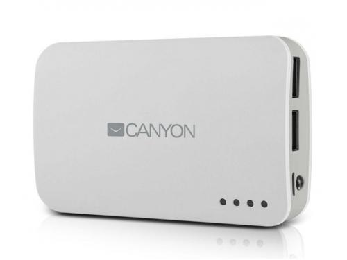 Аккумулятор универсальный Мобильный аккумулятор Canyon CNE-CPB78W, белый, вид 1
