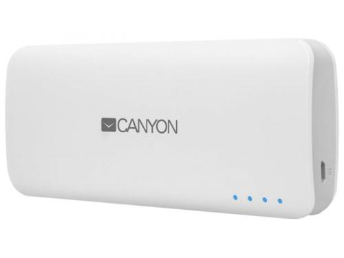 Аксессуар для телефона Мобильный аккумулятор Canyon CNE-CPB100W, белый, вид 1