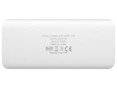 Аксессуар для телефона Мобильный аккумулятор Canyon CNE-CPB100W, белый, вид 2