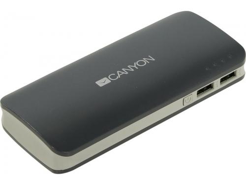 Аккумулятор универсальный Мобильный аккумулятор Canyon CNE-CPB130DG, тёмно-серый, вид 4