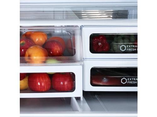 Холодильник Sharp SJ-EX98FSL, многодверный, вид 3