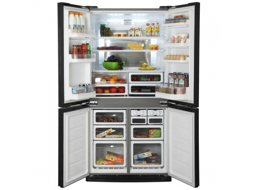 Холодильник Sharp SJ-EX98FSL, многодверный, вид 4