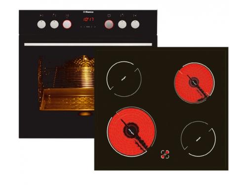 Комплект встраиваемой техники Hansa BCCB 64195055, с духовым шкафом, вид 1