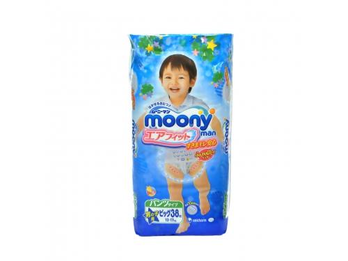 Подгузник MOONY для мальчиков 12-17 кг (38 шт.) XL трусики, вид 1