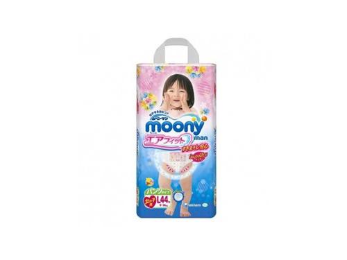 Подгузник MOONY для девочек 9-14 кг (44 шт.) L, трусики, вид 1
