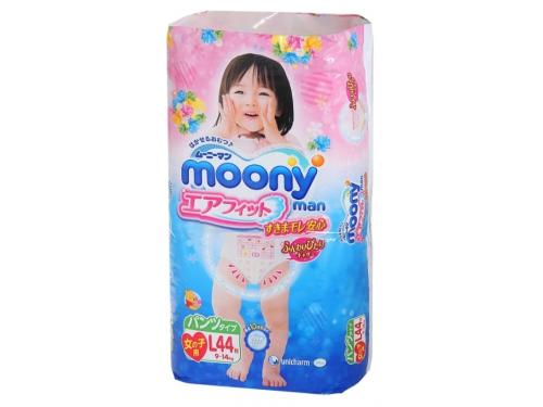 Подгузник MOONY для девочек 9-14 кг (44 шт.) L, трусики, вид 3