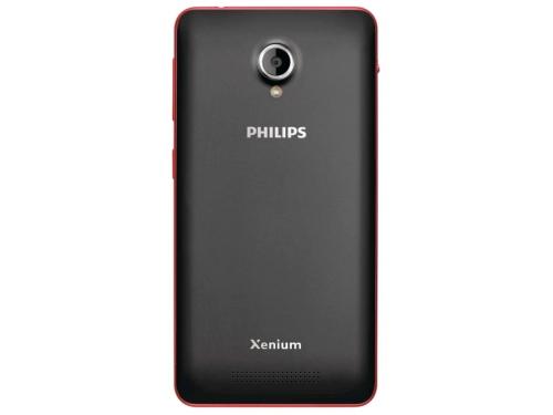 Смартфон Philips Xenium V377, Красный/Чёрный, вид 2