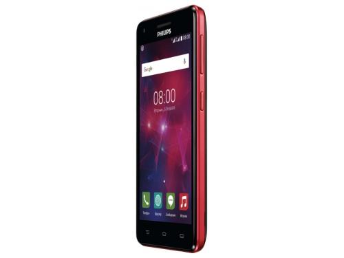 Смартфон Philips Xenium V377, Красный/Чёрный, вид 5