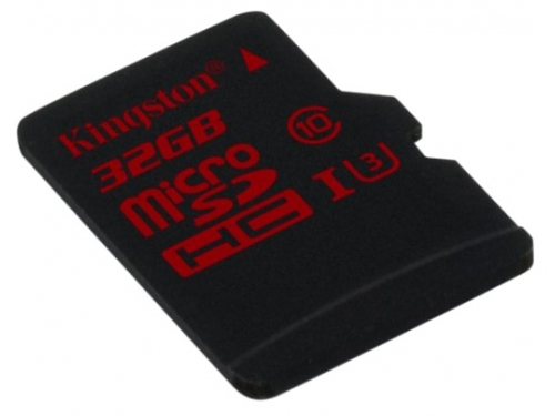 Карта памяти Kingston MicroSDHC 32Gb class10 SDCA3/32GBSP