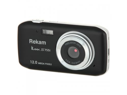 Цифровой фотоаппарат Rekam iLook S755i, черный, вид 1