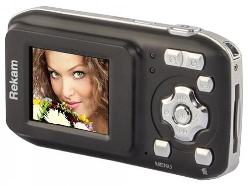Цифровой фотоаппарат Rekam iLook S755i, черный, вид 2
