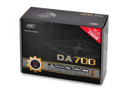 Блок питания Deepcool DA700 700W, вид 5