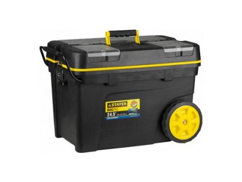 Ящик для инструментов Stayer Professional, черный, вид 1