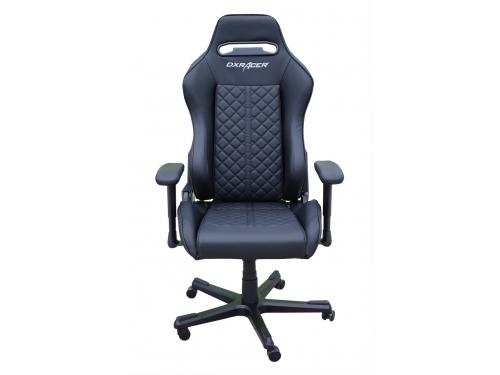 Игровое компьютерное кресло DXRACER OH/DF73/N, черный, вид 1