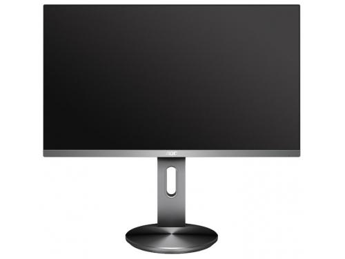 Монитор AOC I2490PXQU, темно-серый, вид 1
