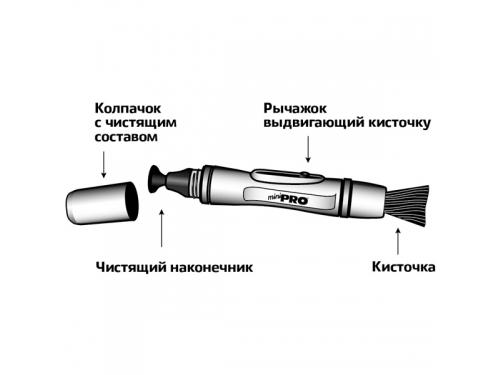 Чистящий карандаш для оптики Lenspen MiniPro II MP-2 (улучшенный), вид 3
