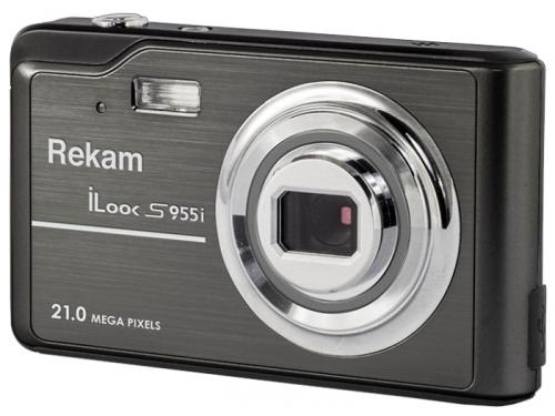 Цифровой фотоаппарат Rekam iLook S955i, черный, вид 1