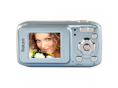 Цифровой фотоаппарат Rekam iLook S755i, серебристый металлик, вид 2