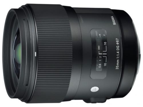Объектив для фото Sigma AF 35 mm f/1.4 DG HSM Art Canon, вид 1