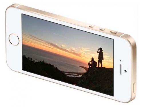 Смартфон Apple iPhone SE 16GB, космический серый, вид 4