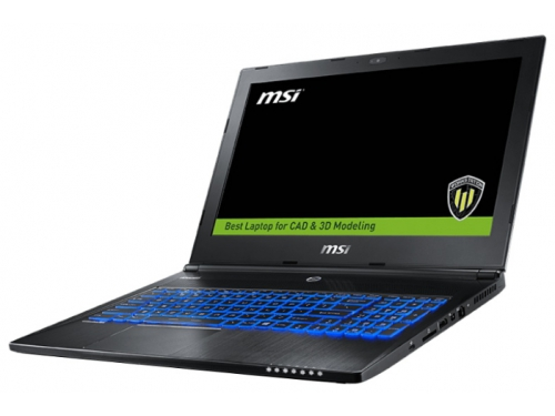 Ноутбук MSI WS60 6QJ , вид 3