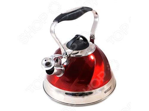 Чайник для плиты Vitesse VS-1119 (3,0 л) со свистком, вид 1