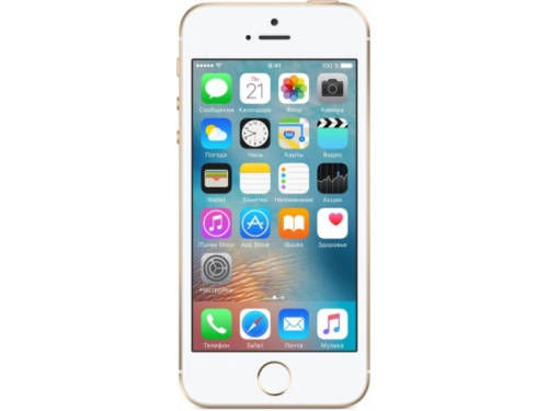 Смартфон Apple iPhone SE 64GB, золотистый, вид 1