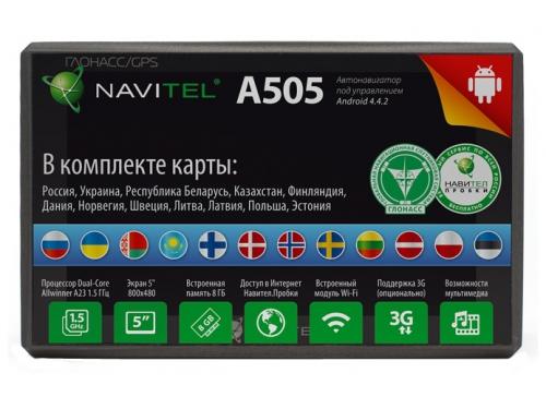 ��������� Navitel A505, ��� 1