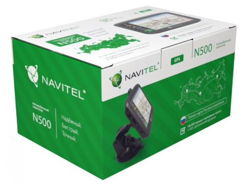 Навигатор Navitel N 500, вид 5