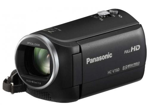 Видеокамера Panasonic HC-V160, черный, вид 1