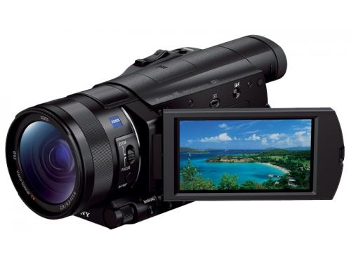 Видеокамера Sony HDR-CX900E, чёрная, вид 1